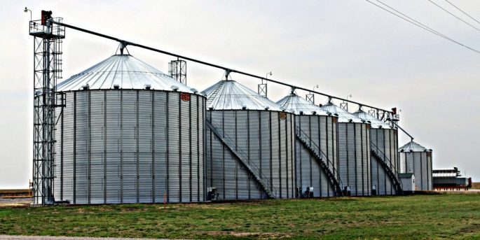 commerical Grain Storage Systems kansas