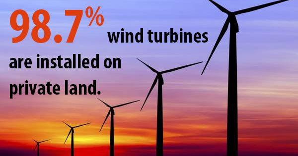 wind turbines construction Kansas