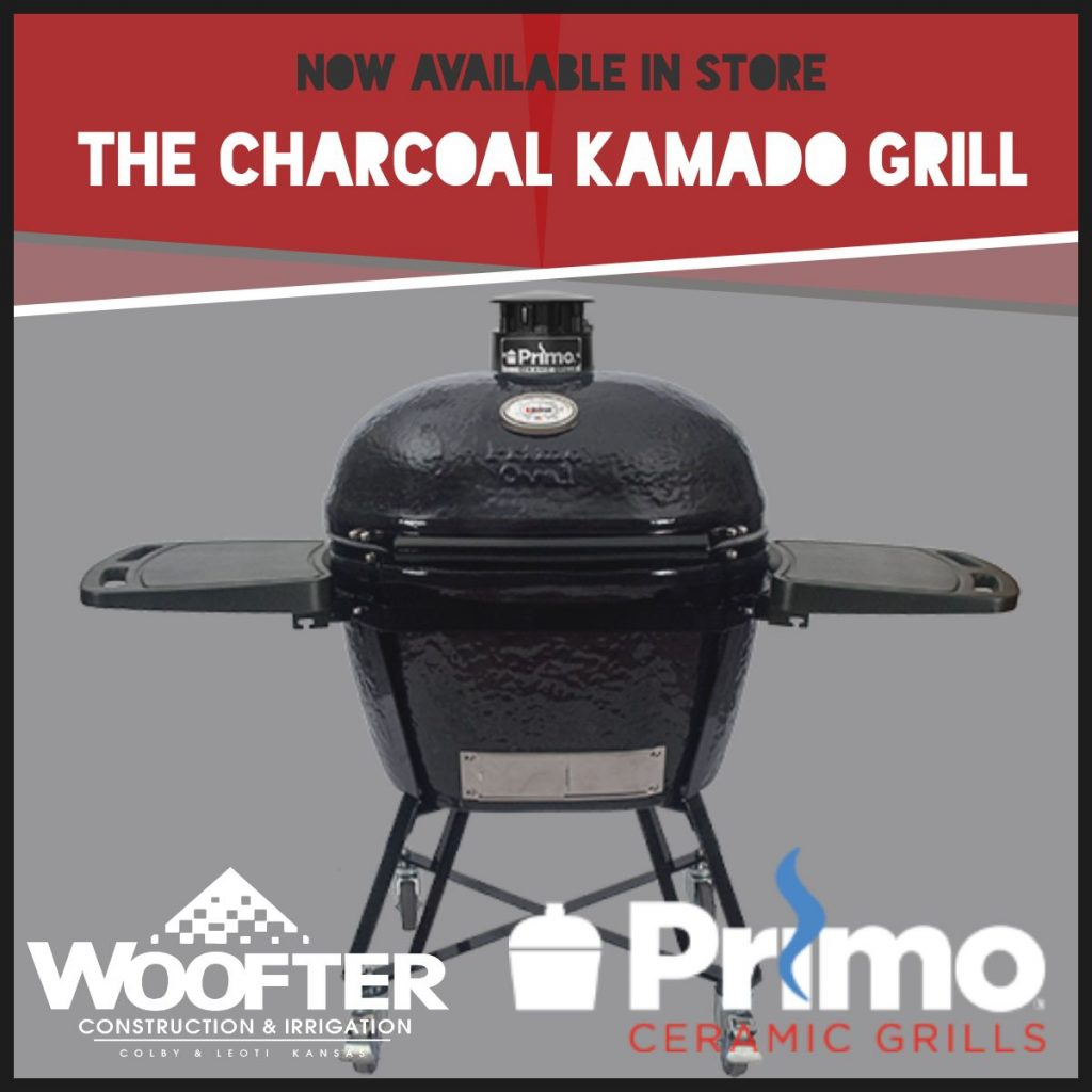 Primo Ceramic Grills at Woofter